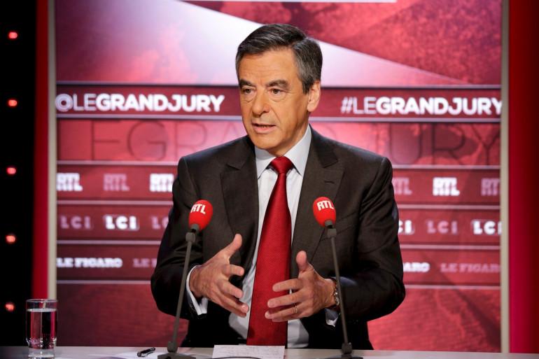 François Fillon était l'invité du Grand Jury dimanche 23 octobre 2016