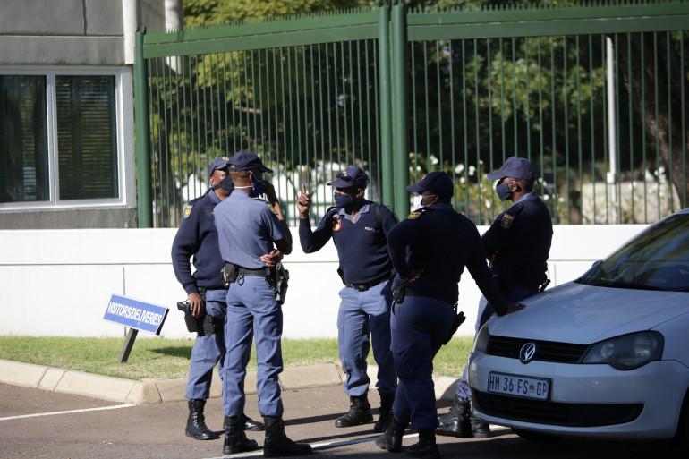 Des policiers sud-africains (illustration)