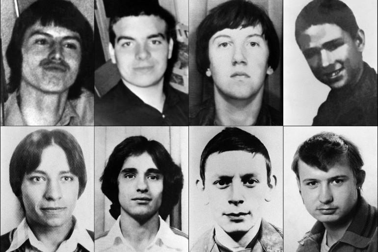 """Montage des portraits des """"disparus de Mourmelon"""""""