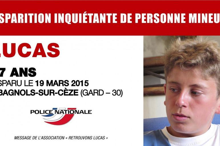Le clip de mobilisation pour retrouver Lucas Tronche
