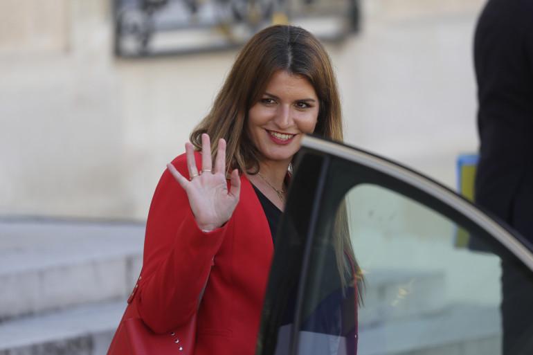 La ministre déléguée à la Citoyenneté Marlène Schiappa, le 7 juillet 2020