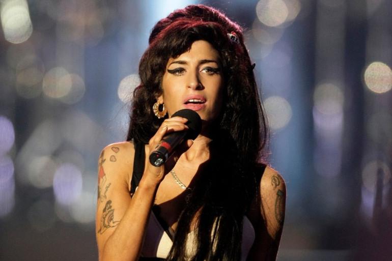 Amy Winehouse à Londres le 27 juin 2008