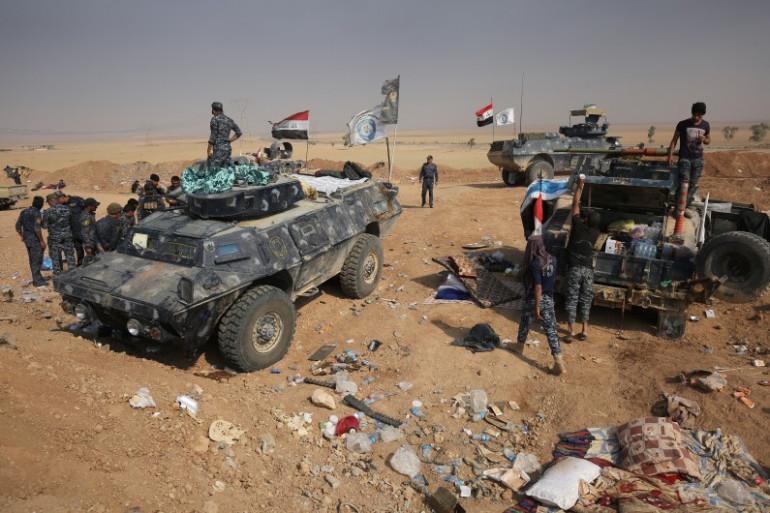 Les forces irakiennes tiennent tête à l'État islamique au sud de Mossoul