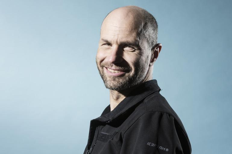 L'explorateur franco-suisse, photographié le 23 mars 2017