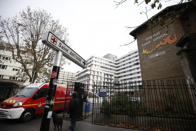L'hôpital Saint-Antoine situé dans le XIIe arrondissement de Paris