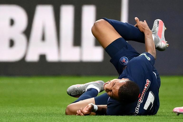 L'attaquant du PSG, le 24 juillet au Parc de Princes