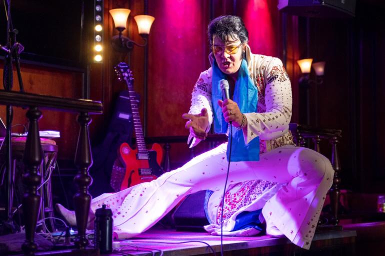 L'artiste norvégien Kjell Elvis, le 23 juillet 2020 à Oslo.