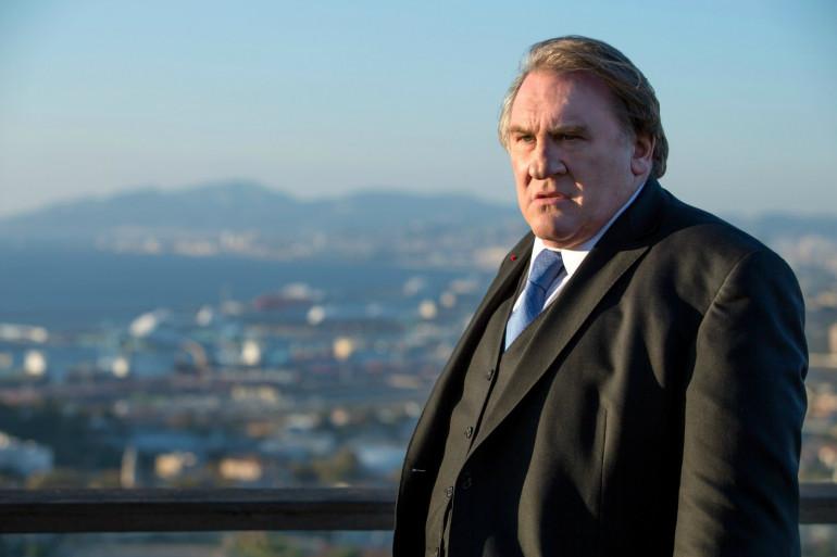 """Gérard Depardieu dans la série Netflix """"Marseille"""""""