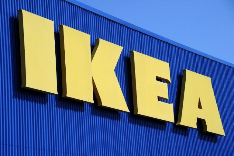 Le logo de l'enseigne Ikea (illustration)