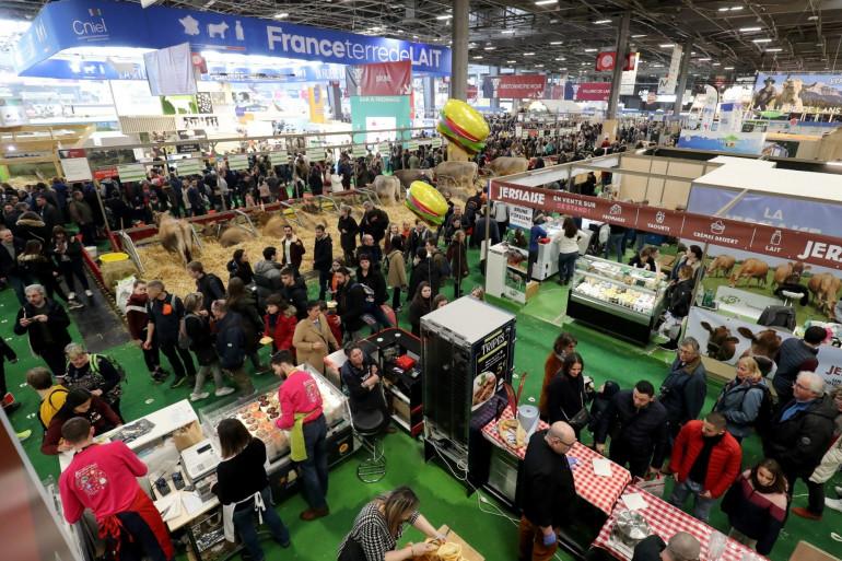 Le Salon de l'Agriculture 2020 qui s'est tenu jusqu'au 1er mars à Paris, avant le confinement (Illustration).