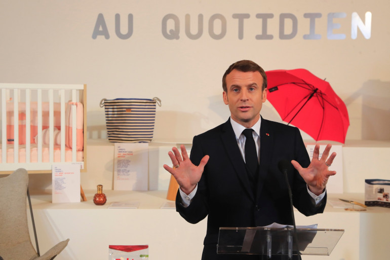 """L'Élysée a ouvert ses portes à 10.000 visiteurs pour promouvoir le """"made in France""""."""