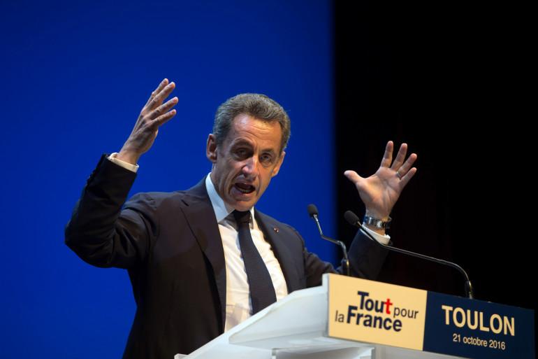 Nicolas Sarkozy, le 21 octobre 2016