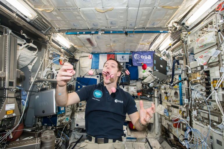 Pour sa deuxième mission dans l'espace, Thomas Pesquet étudiera le vieillissement des cerveaux humains.