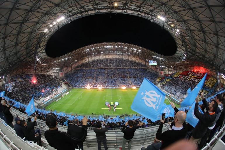 Au stade Vélodrome de Marseille le 22 octobre 2017