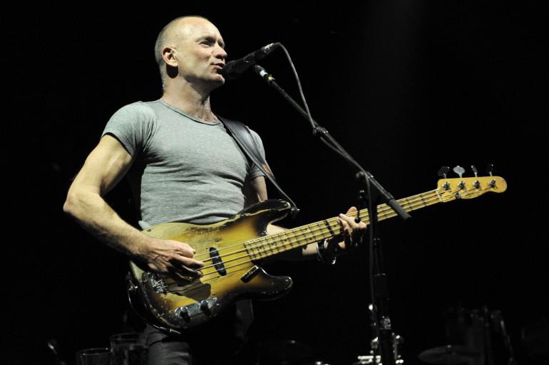 Sting est le premier artiste à remonter sur la scène du Bataclan