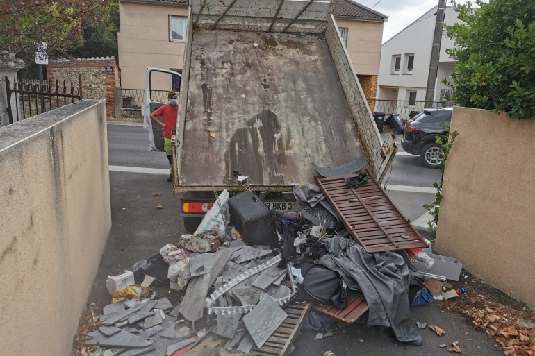 Des déchets rapportés au contrevenant