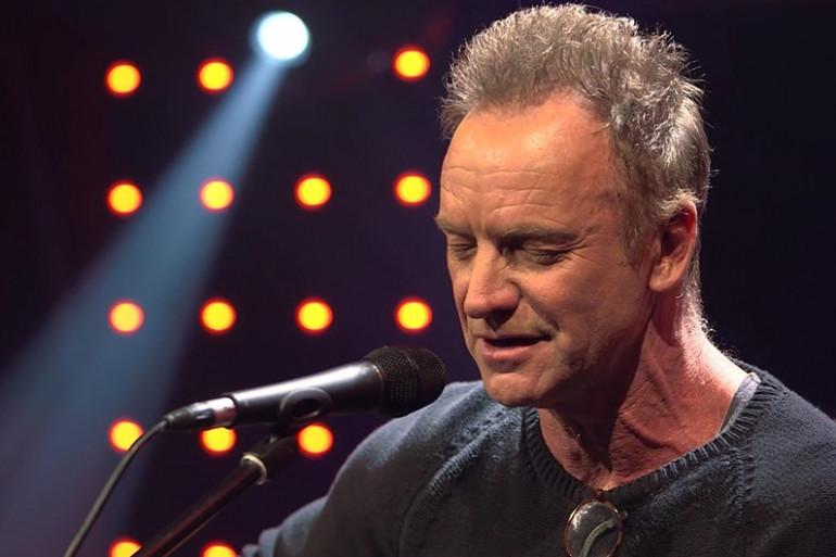 Sting dans Le Grand Studio RTL