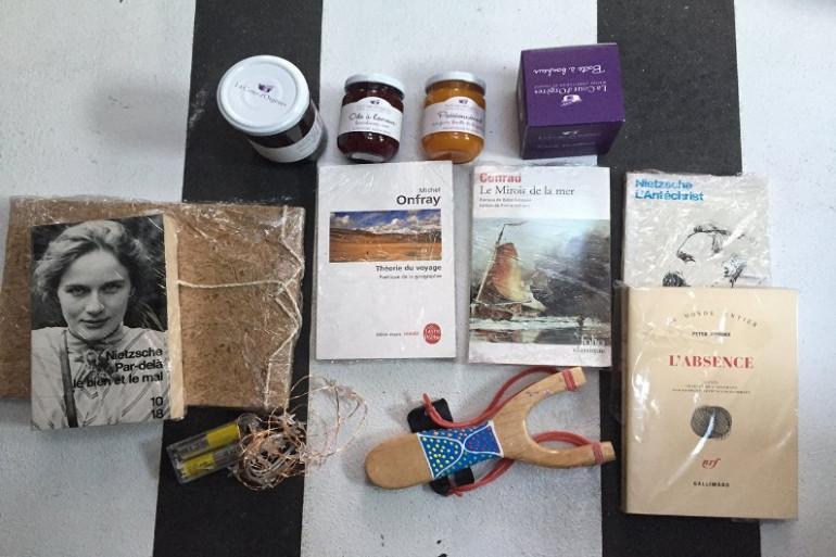 Les objets embarqués par Fabrice Amedeo, skipper sur la 8ème édition du Vendée Globe