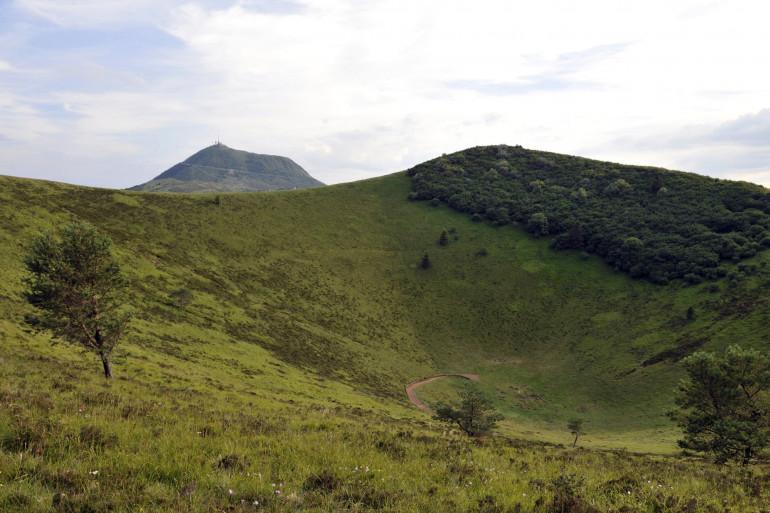 Le Puy-de-Dôme, en Auvergne.