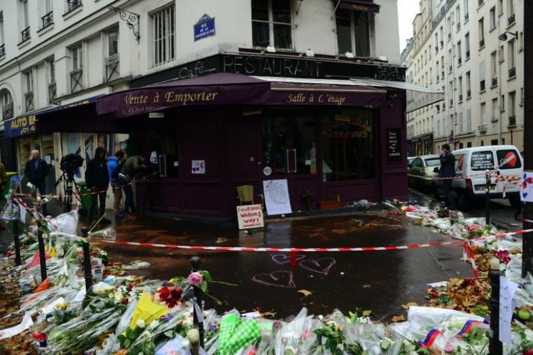 """La terrasse du """"Cosa Nostra"""", une des cibles attentats du 13 novembre 2015"""
