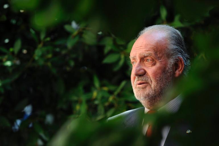 L'ancien roi d'Espagne Juan Carlos en septembre 2009.