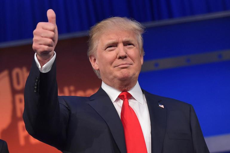 Donald Trump, le 45e président des États-Unis