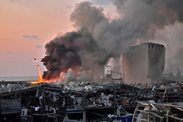 Deux explosions ont secoué Beyrouth, faisant plusieurs morts et blessés, le mardi 4 août 2020.