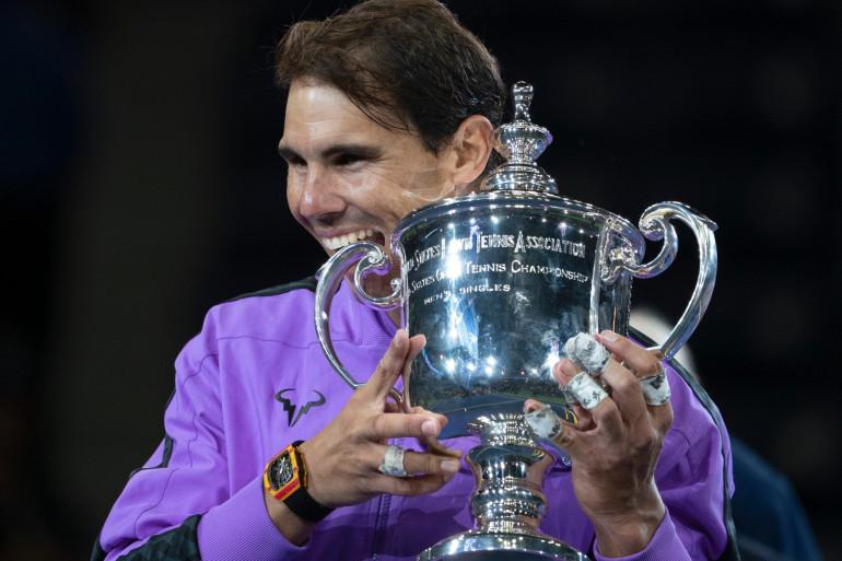 Rafael Nadal a remporté l'US Open en 2019.