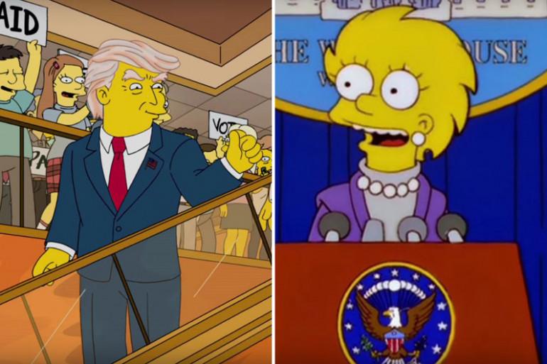 Les Simpsons avaient déjà imaginé Trump président des États-Unis