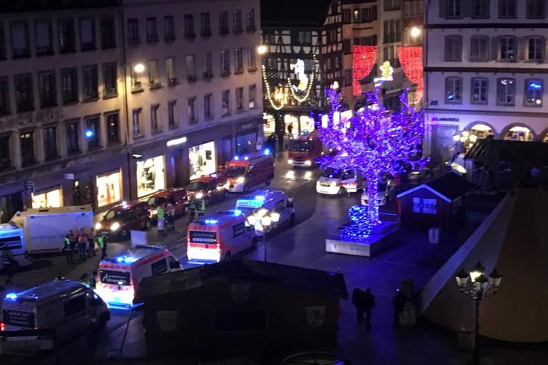 Une fusillade a éclaté dans le centre-ville de Strasbourg, le 11 décembre 2018