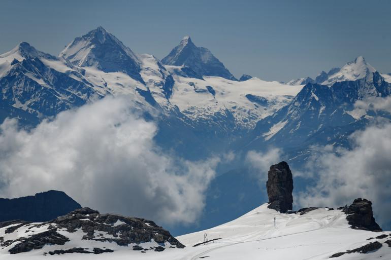 Les Alpes suisses (illustration)