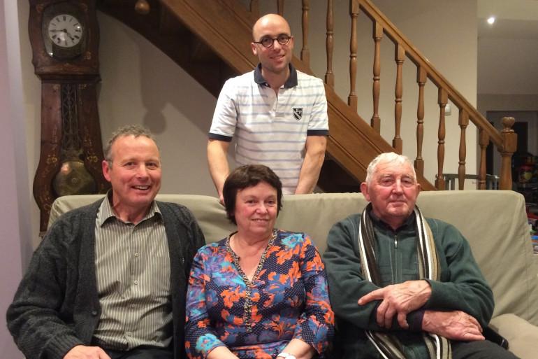 La famille Patry habite dans la Sarthe.
