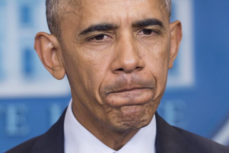 Barack Obama lors d'une conférence de presse, lundi 14 novembre 2016 à Washington.