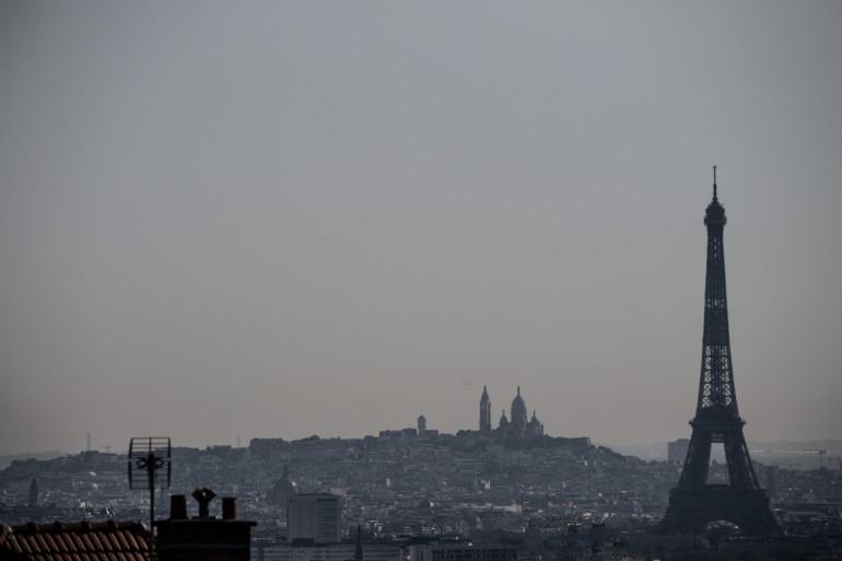 Une vague de chaleur sur Paris, le 8 août 2020