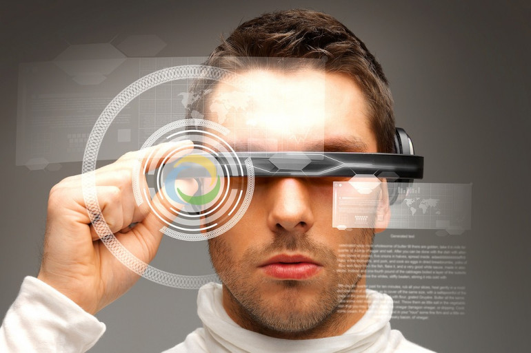 Image d'illustration représentant des lunettes de réalité augmenée