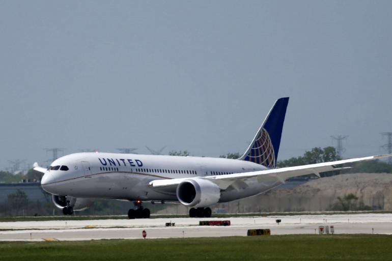Un avion de la United Airlines (illustration)