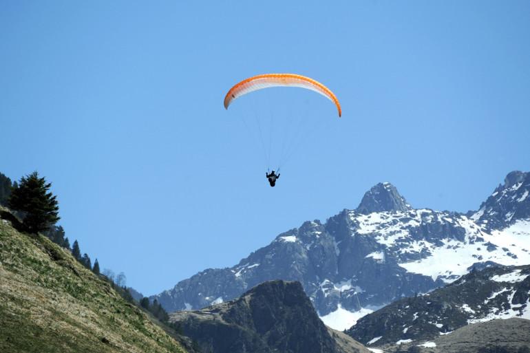 Un parapentiste a disparu depuis plusieurs jours dans les Pyrénées (Illustration).