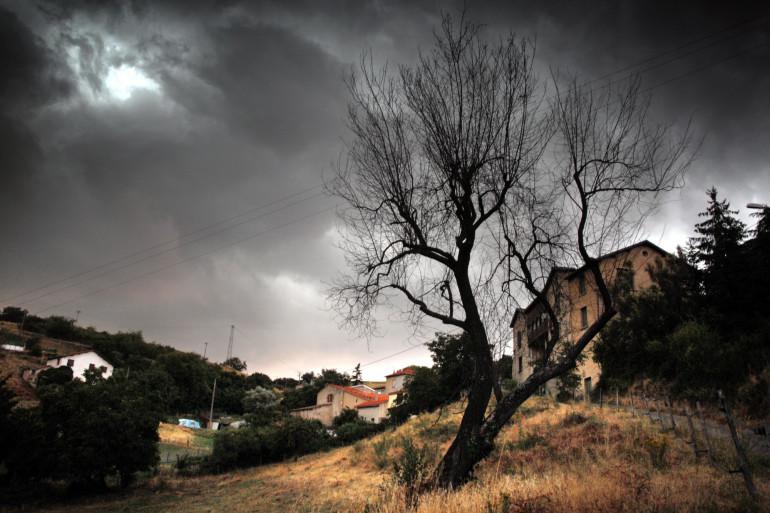 Un orage se prépare dans la région de Lyon (illustration)