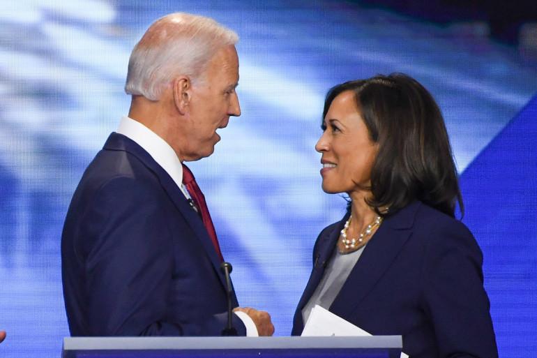 Joe Biden et Kamala Harris, le 13 septembre 2019