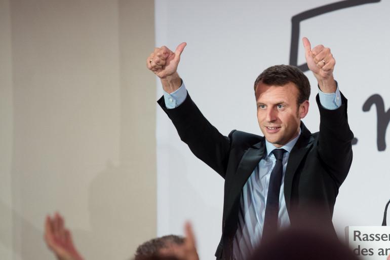 Emmanuel Macron, le 5 novembre 2016