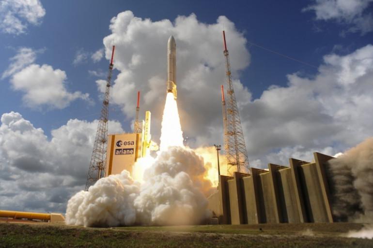 Le 17 novembre 2016, le lanceur européen Ariane 5 a mis en orbite quatre nouveaux satellites pour le système européen de navigation Galileo