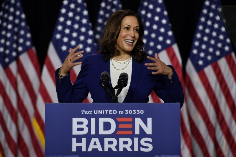 La sénatrice Kamala Harris a été choisie comme colistière par le candidat démocrate à la Maison Blanche, Joe Biden.