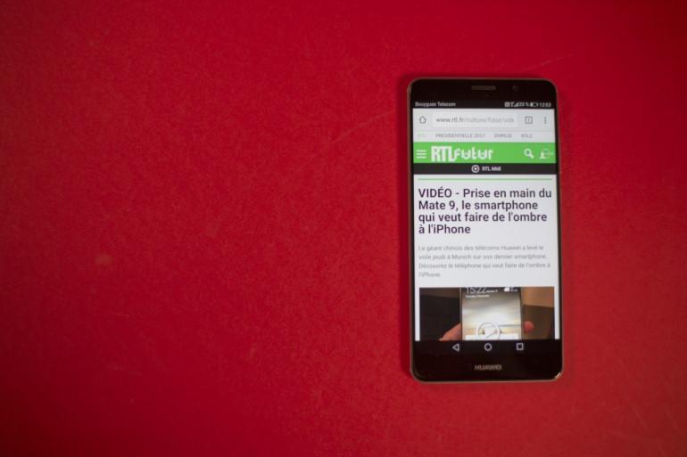 Le Mate 9 de Huawei veut faire de l'ombre à l'iPhone