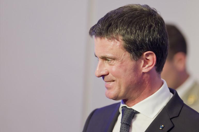 Le Premier ministre Manuel Valls, le 10 octobre 2016