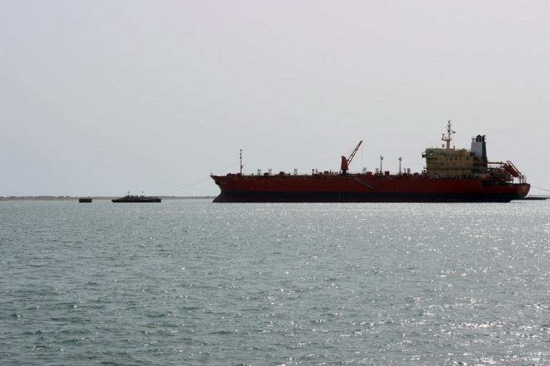 Une vue du port de Hodeida.
