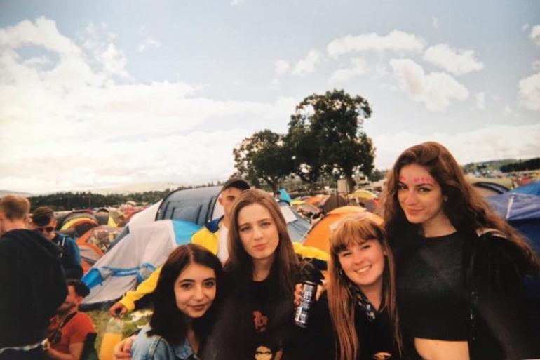 Les membres fondatrices de Girls Against : Anni, Anna, Bea et Hann (de gauche à droite)