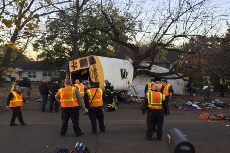 Au moins six morts dans un accident de bus scolaire aux États-Unis