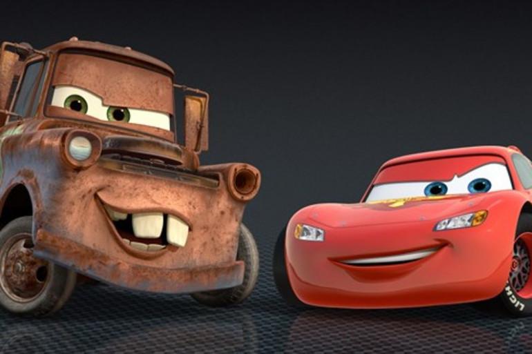 Martin et Flash Mc Queen, Cars