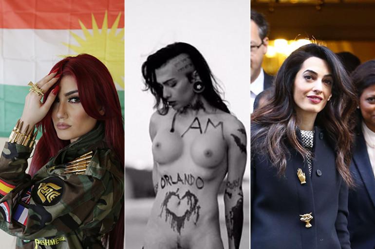 Helly Luv, Heidi Ingensdotter et Amal Clooney partagent un ennemi commun : Daesh
