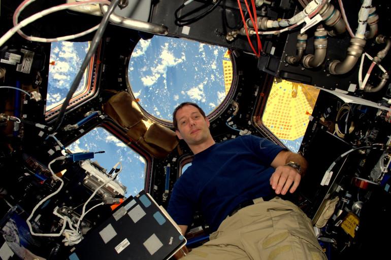 Thomas Pesquet a effectué sa première mission le 21 novembre dans la Cupola